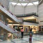 shopping near the Hilton
