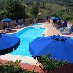 Pool area-