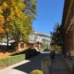 near hotel entrance on the grounds- Autumn 2017