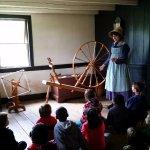 Spinning yarn was just one element of textile production on the frontier