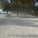 Each villa has a reserved / designated cabana