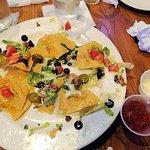 what's left of the chicken nachos