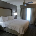 King bed -- Homewood Suites in Mahwah