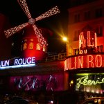 Moulin Rouge along Pigalle