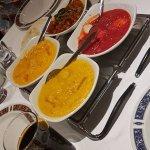 Korma, Tikka Massala and Butter chicken