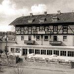 Das Hotel Seeblick im Jahre 1952