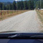 Ovenell's Road to Cabins w-Mt Baker