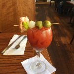 Hands down the BEST Bloody Mary in town!
