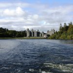 Ashford Castle viewed from the ship