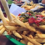 Green chile french fries
