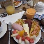 Assiette du petit-déjeuner