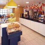 Hot Buffet Breakfast Area