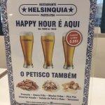 Happy Hour com Petisco
