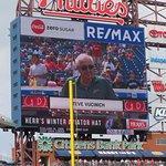 A's Steve Vucinich honored