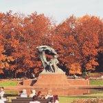 Łazienki-Park (Park der Bäder) Foto