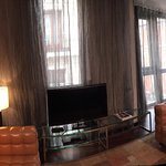 Pano of our Corner Suite