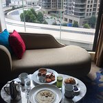 In-room breakfast with view