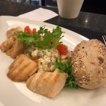 Delicious Russian salad with chicken
