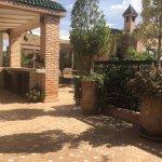 Rooftop garden/dining patio