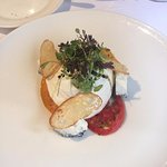 My mrs. Goat's Cheese Starter which she loved as well!
