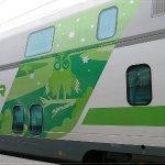 Sehen schon interessant aus, die Züge in Finnland