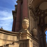 Ornamentation at the Palace of Fine Arts