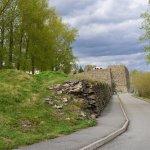 Кузнецкая крепость: стена