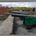 Кузнецкая крепость: крепостные орудия.