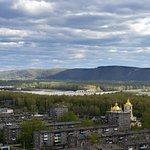 Кузнецкая крепость: вид на город