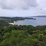 View From Mount Luho Observation Deck