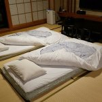 Tatami mats in traditional style Yuan room
