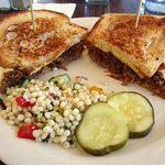 Chive Cafe Pulled Pork Sandwich