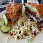 Chive Cafe Buttermilk Fried Chicken Sandwich