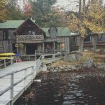 View of Main Lodge from the main dock
