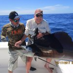 Second sailfish--you get to get one in for a picture--all the rest are released.