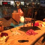 Our tapas and wine - delicious!