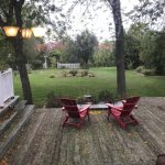 wonderful back deck and yard