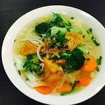 VEGETARIAN RICE NOODLE SOUP