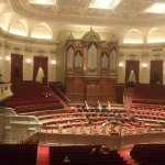 magnificent concert hall, easy to book seats anytime