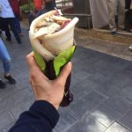 The best shwarma, if you want a tasty to go snack this is the place, value for money and fresh !