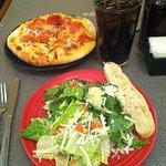 Pepperoni pizza combo