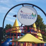 Entrance to Melaina's Magical Playland.