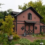 This is the historic barn that has been restored