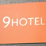 Business card for 9Hotel Central, Brussels
