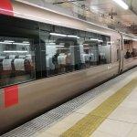 There are many Odakyu Limited Express Romancecar going from Shinjuku to Hakone