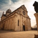 The Cathedral of St James in Sibenik