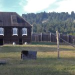 Fort Ross in Sonoma County, California