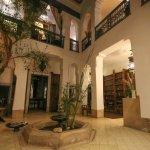 Downstairs of Riad Dar Oulhoum