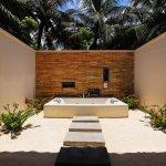 beach villa spa