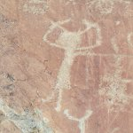 Gravure rupestre sur Fontanalba